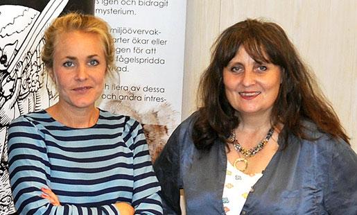 Författarna Sara Beischer och Jane Morén har båda jobbat som vårdbiträden.