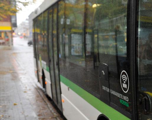 I juni tog bussbolaget Nobina över trafiken i Örnsköldsvik och Sundsvall och alla förare fick söka om sina jobb. Foto: Håkan Nordström