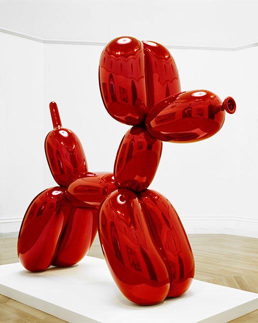 """""""Dog"""" av Jeff Koons"""