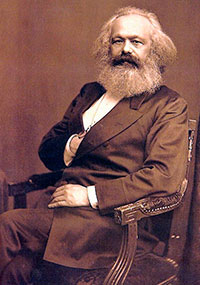 """""""Bourgeoisien har upplöst den personliga värdigheten i bytesvärde"""", sade Karl Marx.  Foto: Anonym  fotograf, 1875"""
