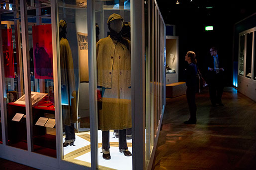 Utställningen i Museum of London ska pågå fram till april. Foto: Matt Dunham
