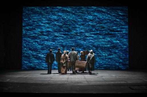 Utvandrarna på Dramaten. Foto: Sören Vilks