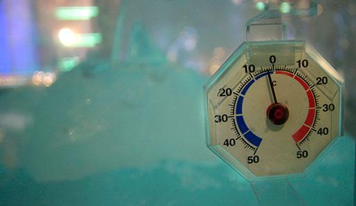 Inte ok Pressbyråtemperatur. Foto: Tomas Oneborg
