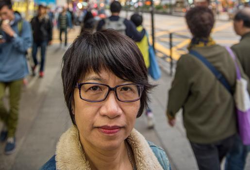 Fackledaren Elizabeth Tang tycker sig se måttliga framsteg. Foto: Stefan Lindberg