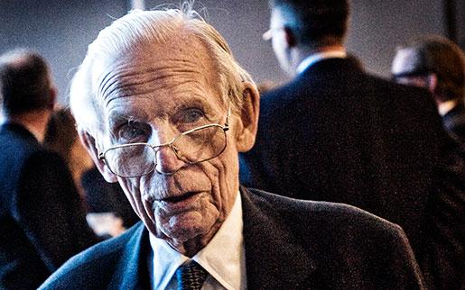 Peter Wallenberg på Ericssons årsstämma 2010. Foto: Magnus Hjalmarson Neideman
