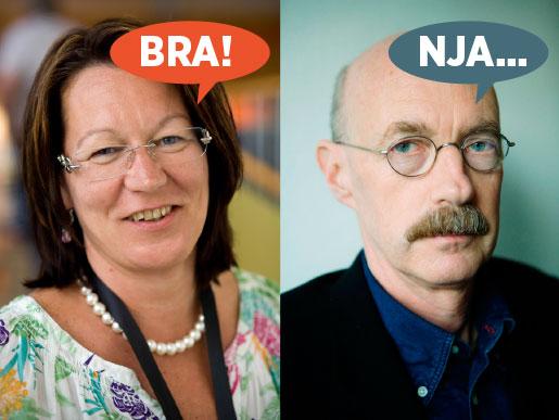 Lenita Granlund, Kommunal, gillar att jämställdheten kommer på agendan för Medlingsinstitutet. Kurt Eriksson på institutet tror att uppdraget blir för svårt.