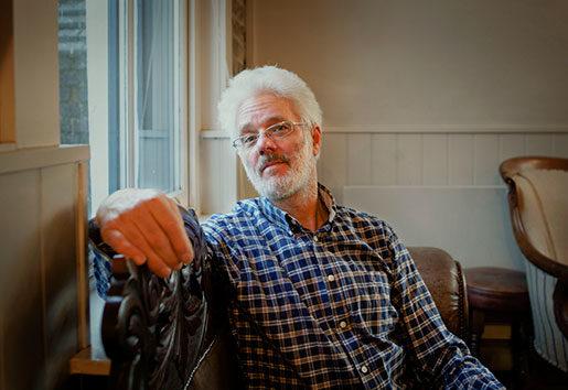 John Hamilton från People before profit är inte rädd för direktaktioner – även om de är olagliga – för att hemlösa ska få bostäder. Foto: Åsa Westerlund