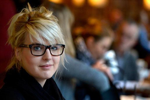 Jessica Davenius kan vittna om hur staplade visstidsanställningar påverkar medlemmarna: panikångest och sammanbrott.Foto: Janerik Henriksson
