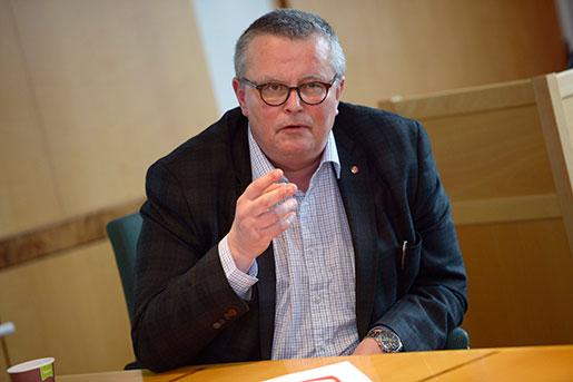 Hans-Olof Nilsson, Livs ordförande. Foto: Leo Sellén