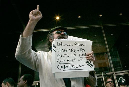 Det verkar som att denna spåman fick fel – nyliberalismen har hittills överlevt finanskrisen. Foto: Mary Altaffer