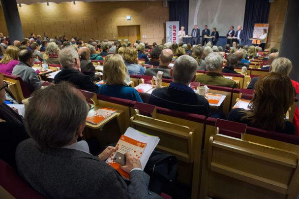 Seminarium om rapporten Modellen som klev ut genom ett fönster. Foto: Fredrik Sandberg