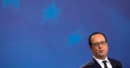 Francois Hollande, Frankrikes president. Foto: Francois Mori