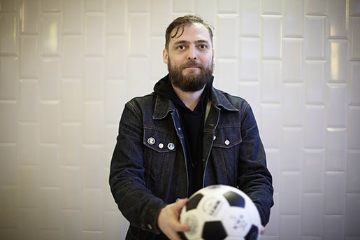 Andreas Bjunér tror att Hammarby hamnar på runt tionde plats i Allsvenskan i år. Foto: XAVI TORRES-BACCHETTA