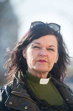 Magda Hane, diakon i Svenska kyrkan.