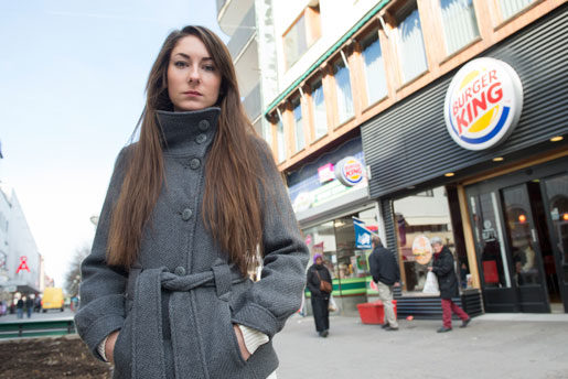 Evelin Schulz blev uppsagd på grund av arbetsbrist, hävdar arbetsgivaren. Foto: Fredrik Sandberg