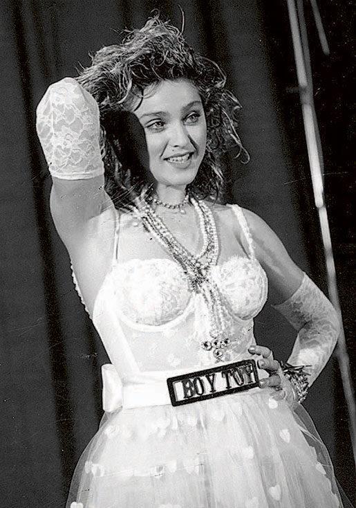 På MTV-galan som 25-åring. Året är 1984. Foto: AP