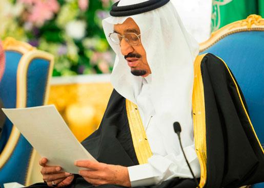 Kung Salman, nytillträdd regent i Saudiarabien, håller sitt första policytal. Han tros styra landet i än mer konservativ riktning. Effekten av att Sverige sagt upp sitt militära samarbetsavtal med landet är svår att förutsäga.Foto: AP Photo