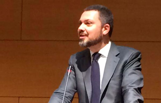 Luca Visentini blir Europafackets nya generalsekreterare. Foto: Eva Nordmark