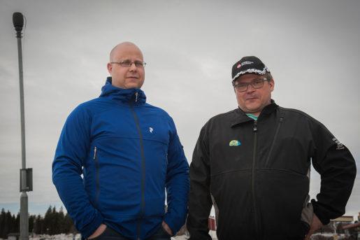 Niklas Eriksson och Jan Niemi söker nu nya jobb, även långt från Pajala. Foto: Kim Kangas