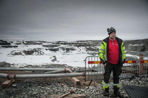 """""""Det här var en fruktansvärt bra arbetsplats. Jag trivdes verkligen med skiften,"""" säger Karl Axel Wallström. Foto: Kim Kangas"""