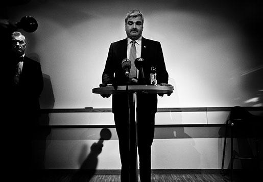 Juholts tio månader som partiledare var troligen den mest turbulenta tiden i  Socialdemokraternas historia.  Foto: Roger Turesson