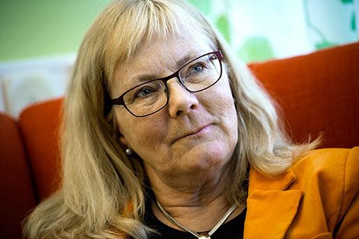 Verksamhetschefen Susanne  Wieland försöker lösa läkarbristen en vecka i taget. Foto: Pavel Koubek
