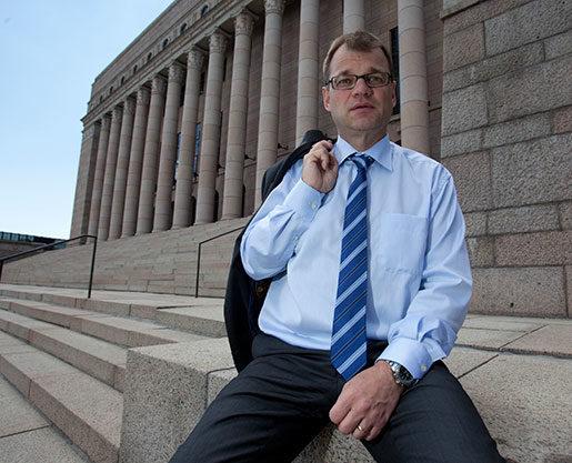 Centerpartiets Juha Sipilä blir sannolikt statsminister i nästa regering. Foto: Katri Hyväkkä, finska Centerpartiet