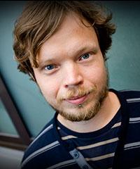 Per Björklund är redaktör för Syrien-antologin. Till vardags är han chefredaktör för Fria tidningar.