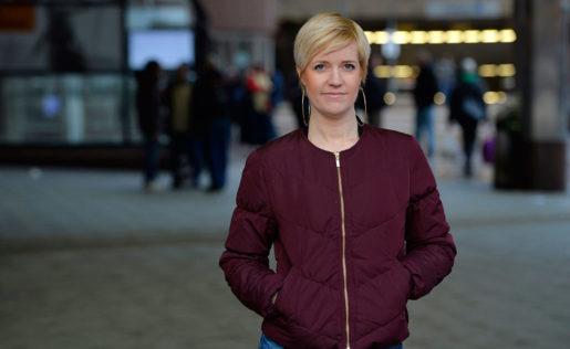 Jenny Bengtsson, HRF, anser att regeringen bör avskaffa allmän visstid.Foto: Henrik Montgomery