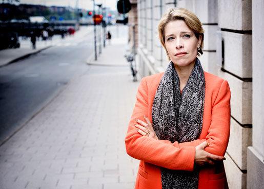 Pensionerna är bara en del av problemet, anser socialförsäkringsminister Annika Strandhäll. Hela arbetslivet är ojämställt. Foto: Malin Hoelstad