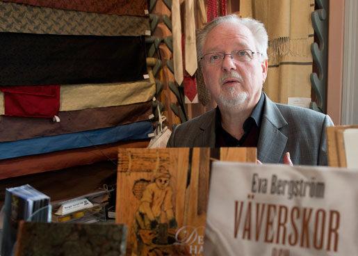 Jan Lindo chefar på K A Almgren. Foto: Maja Suslin