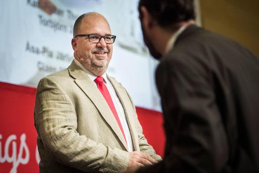 Karl-Petter Thorwaldsson, ordförande i LO. Foto: Nora Lorek