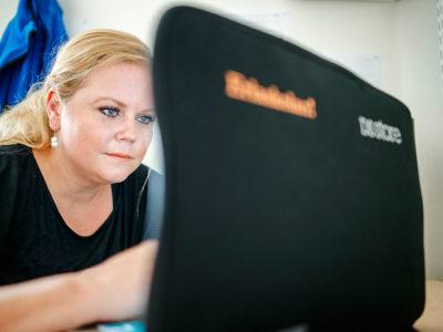 Om tio år, när allt är i hamn, då kan vi vara stolta över att vi har en bra skola, säger Malin Duran Lundblad.Foto: Henrik Witt