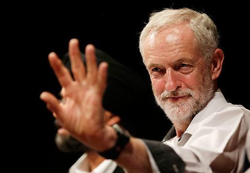 Jeremy Corbyn, fackens favorit, är en kandidat som vill förstatliga järnvägen och beskatta rika mer.Foto: Alastair Grant