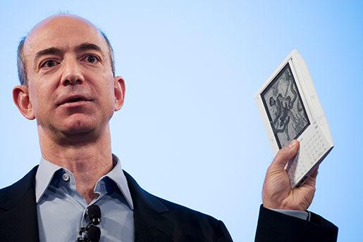 Jeff Bezos. Foto: Mark Lennihan