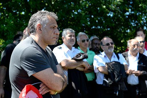 Reza Forghani informerade sina arbetskamrater om avskedandet i början av juli. Foto: Bertil Ericson