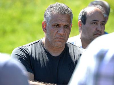 Reza Forghani som avskedades för påstådd illojalitet får starkt stöd från sina kamrater. Foto: Bertil Ericson