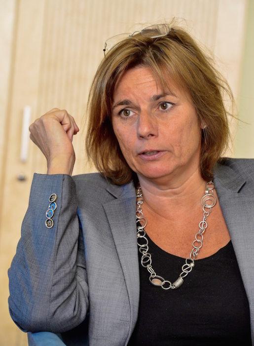 Biståndsminister Isabella Lövin. Foto: Jonas Ekströmer / TT