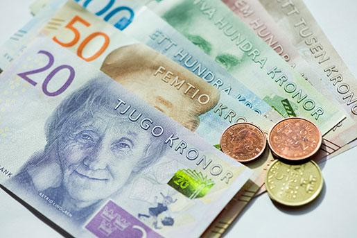 Bytet till de nya sedlarna är inte helt säkert, hävdar Handels. Foto: Fredrik Sandberg