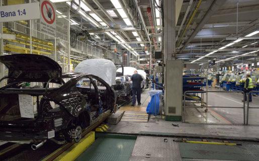 Industrin är lönenormerande, här Volvo Cars. Foto: Björn Larsson Rosvall