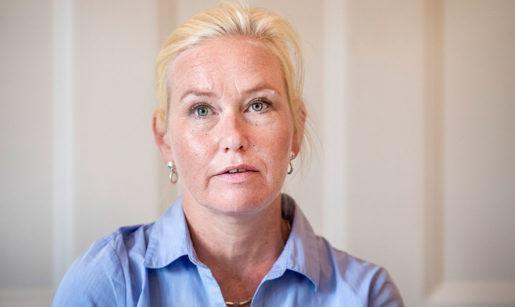 Infrastrukturminister Anna Johansson (S). Foto: Marcus Ericsson