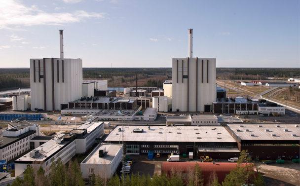 Forsmarks kärnkraftverk. Foto: Anders Wiklund