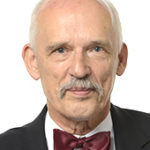 Janusz Korwin-Mikke gjorde hitlerhälsning i EU-parlamentet.