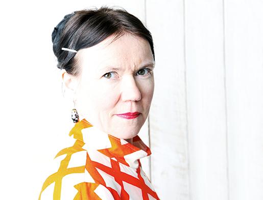 Rosa Liksom. Foto: Foto: Pekka Mustonen