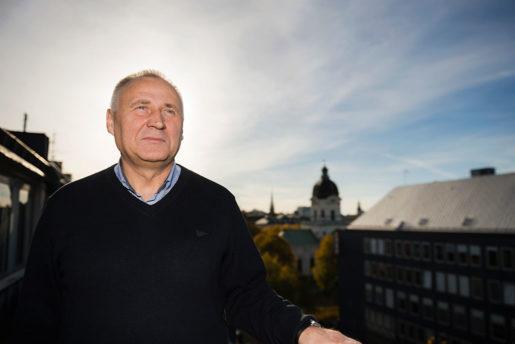 Mikola Statkevich. Foto: Vilhelm Stokstad