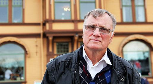 Örjan Fridner. Foto: Johanna Syrén