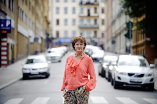 STOCKHOLM 20140807 Kommunals ordfˆrande Annelie Nordstrˆm Foto Annika af Klercker / TT / 10840