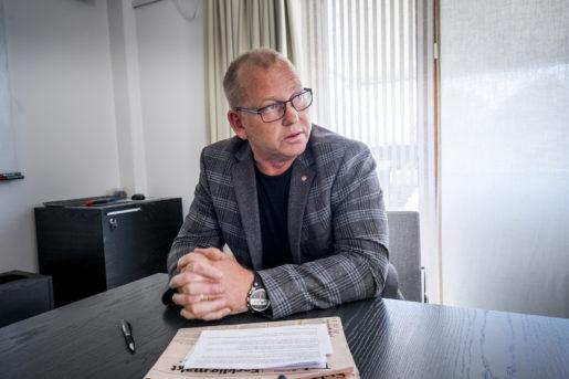 STOCKHOLM 2014-06-09 Johan Lindholm ‰r ordfˆrande pByggnads. H‰r pKansliet i Stockholm. Foto: Magnus Hjalmarson Neideman / SvD / TT / Kod 10078 ** OUT DN och Dagens Industri (‰ven arkiv) och Metro**