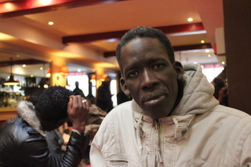 I tre år har Riaw Yagja från Sengal bott i Frankrike. Han har färmst jobbat som städare men just nu är det mycket svårt att hitta jobb, säger han. Foto: Erik Larsson