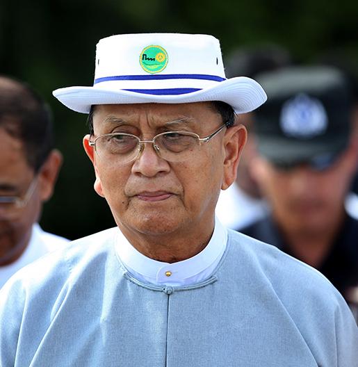 President Thein Sein. Photo: AP /Hkun Lat.